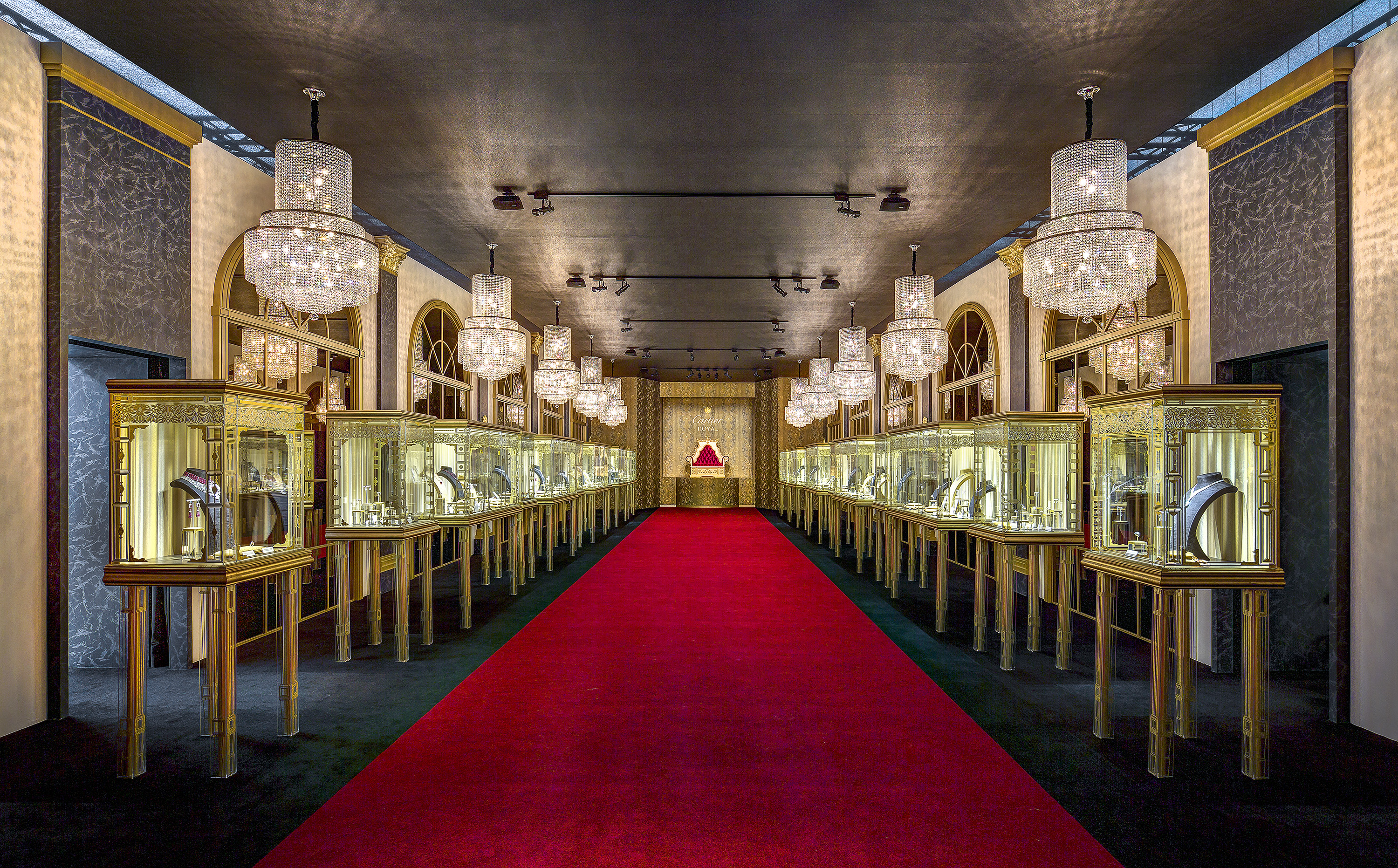 CARTIER HIGH JEWELRY ROYAL EXHIBITION 2015